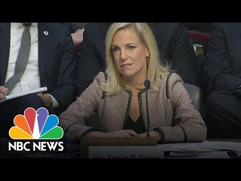 DHS Secretary Nielsen On S***hole Comment 'I Did Not Hear That Word Used' | NBC News