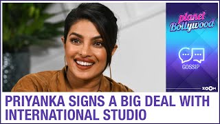 Priyanka Chopra signs a big deal with an international studio - ZOOMDEKHO