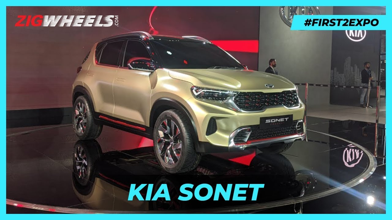 Kia Sonet Debuts At Auto Expo 2020: We Answer YOUR Questions! | ZigWheels.com