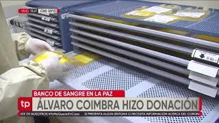 El ministro de Justicia, Álvaro Coímbra, donó plasma hiperinmune; no tuvo síntomas del Covid