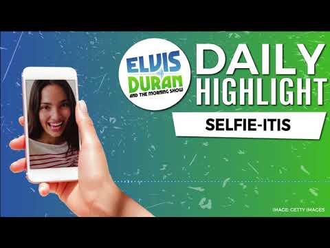 connectYoutube - The Selfie Disease | Elvis Duran Daily Highlight