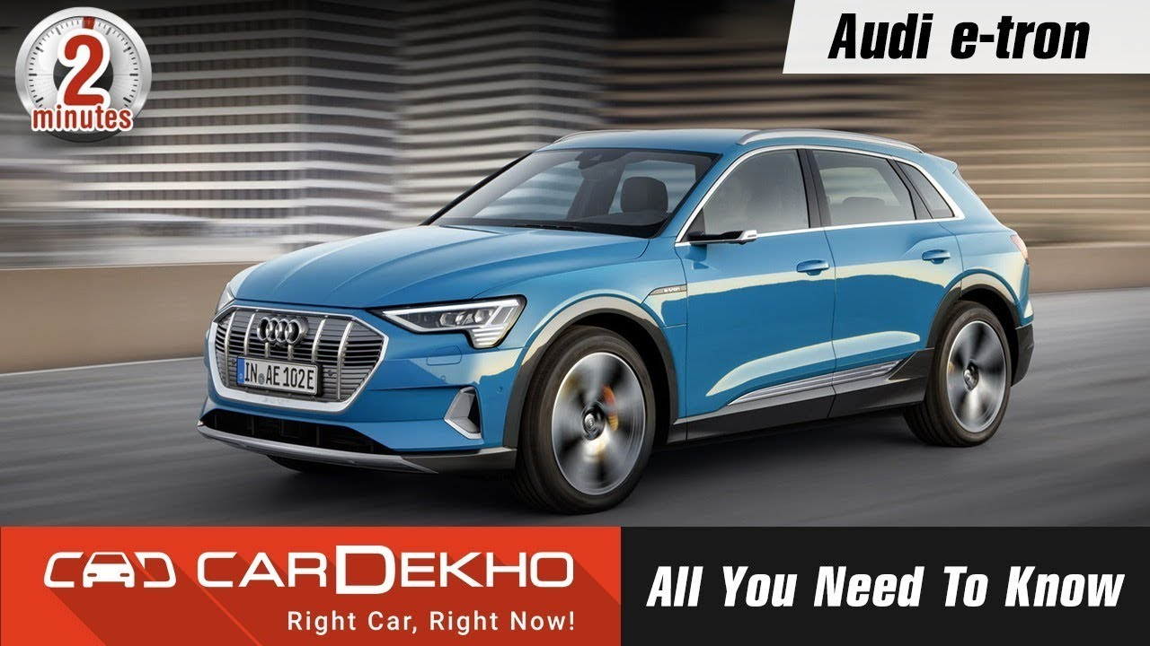 2018 Audi e-tron electric SUV | 400km range, 0-100 - 5.7s, Coming To India? | #In2Mins