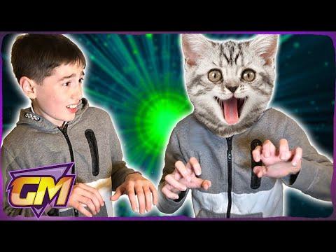 OMG! I turned into a cat!! (Funny Kids Parody)