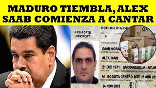 MADURO TIEMBLA, ALEX SAAB COMIENZA A CANTAR