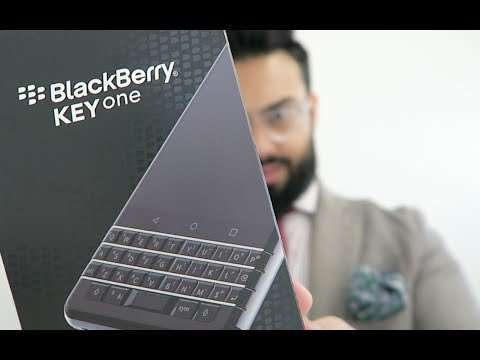 THE BLACKBERRY KEYONE - Unboxing and Hands On Review !!!