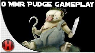 Dota 2 Fails - 0 MMR Pudge Gameplay