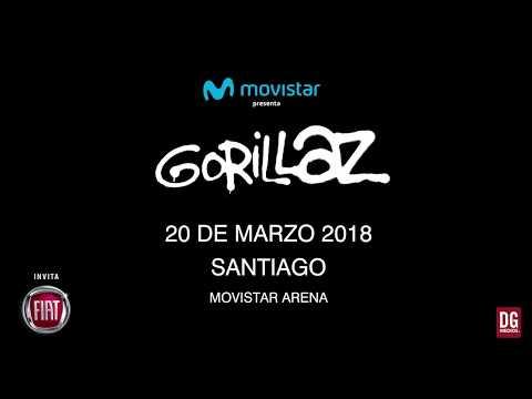 Gorillaz en Chile - Promo #2