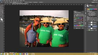 Photoshop CS6 Tutorial - 76 - Adding a Mask to Adjustment Layers