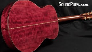 Bourgeois Custom Small Jumbo - 2012 Luthier's Choice Acoustic Guitar Demo