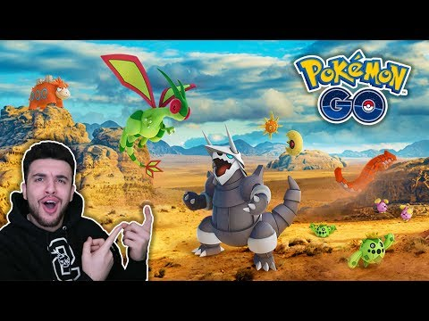 connectYoutube - NEW GENERATION 3 POKEMON OUT NOW! AGGRON, FLYGON, & MORE!