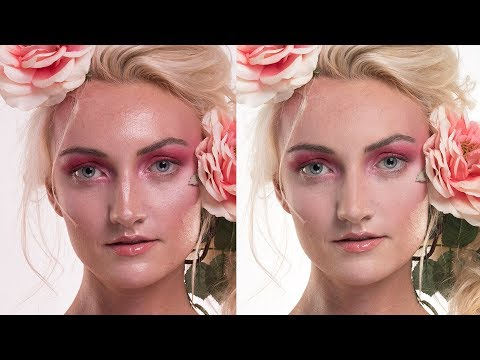 Photoshop | How to Remove  Hot Spots and Fix Oily Skin