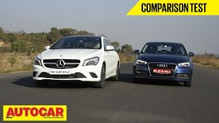 Mercedes Benz CLA-Class vs Audi A3 | Comparison Test | Autocar India - Audi Videos