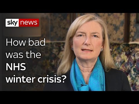 How bad  was the  NHS winter crisis?