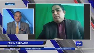 Entrevista a Earmy Carcache, periodista
