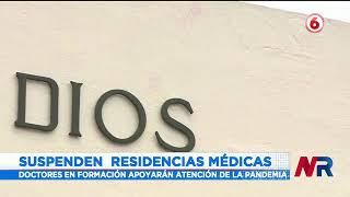 Suspenden residencias médicas ante aumento de hospitalizaciones