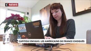 Intrusion au Capitole : les américains de France se disent choqués