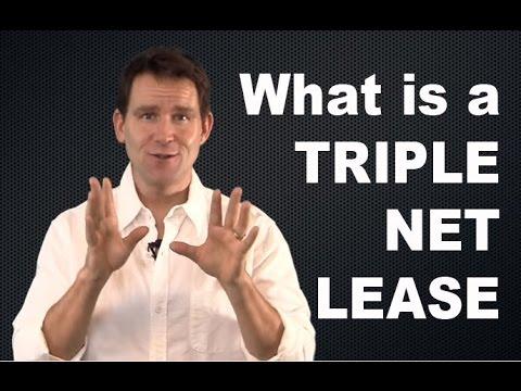 What is a Triple Net Lease?