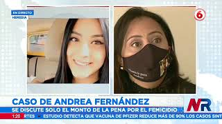 Revisan pena para asesino de Andrea Fernández
