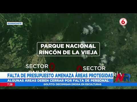 Falta de presupuesto provocó cierre de sector Santa María en Parque Rincón de la Vieja