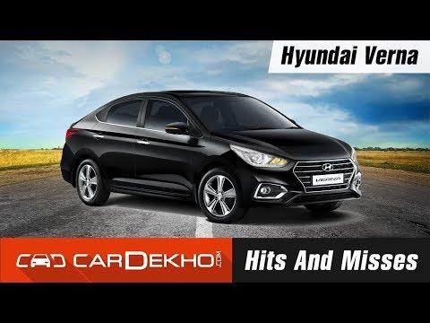 Hyundai Verna Hits & Misses