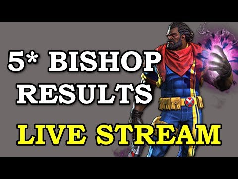 connectYoutube - Waiting for 5* Bishop Arena Results | Marvel Contest of Champions Live Stream