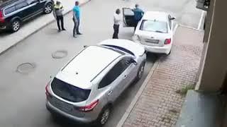 مسنة تتسب بحادث غريب