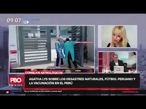 PBO: BUTTERS ENTREVISTA AGATHA LYS - Sobre desastres naturales y la vacunación en el Perú