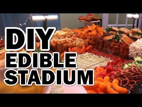 connectYoutube - DIY GIANT Edible Stadium