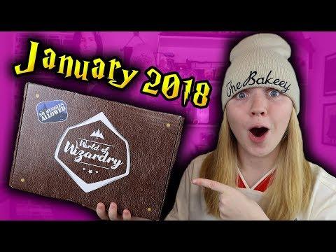 Harry Potter - World Of Wizardry Unboxing - January 2018 (Geek Gear)