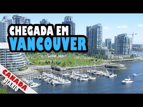 Canada Diario - Episódio 10 - Chegada em Vancouver - Primeiras Impressões - POLÊMICA!!