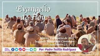 Reflexio?n del Evangelio de Hoy - Martes 2 de marzo de 2021