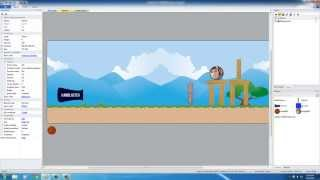 Physics Puzzle Game Development w/ Construct 2 - Tutorial 9 - Adding the Goal