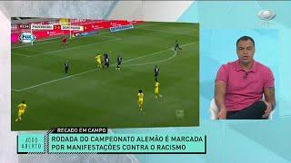DENÍLSON LAMENTA CASOS DE RACISMO NOS EUA E BRASIL: DÁ NOJO COMENTAR | JOGO ABERTO