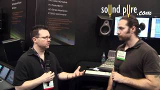 Avid Pro Tools 10 HDX Cards - Interview with Max Gutnik - AES 2011