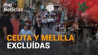 MARRUECOS ABRIRÁ sus FRONTERAS el 15 de julio,  pero sólo las de Italia y Francia | RTVE Noticias