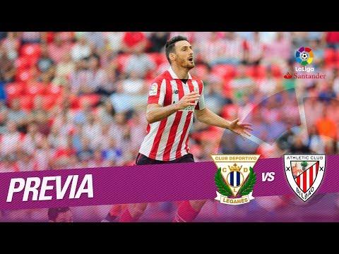 Previa CD Leganés vs Athletic Club