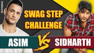 Asim Riaz V/S Sidharth Shukla I Who did the #SwagStep Challenge better? I TellyChakkar - TELLYCHAKKAR