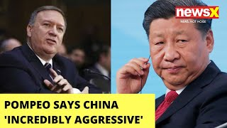 Pompeo: India did its best to respond to China aggression | NewsX - NEWSXLIVE