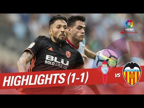 Resumen de RC Celta vs Valencia CF (1-1)