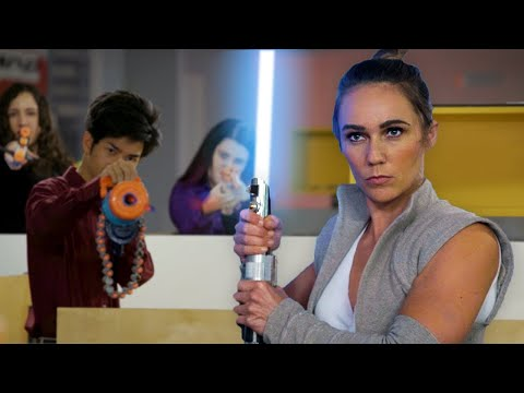 connectYoutube - NERF STAR WARS 2 - The Last Office Jedi