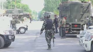 01 Jul, 2020 - Indian security forces rescue toddler during militant attack in Indian Kashmir - ANIINDIAFILE