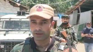 3-yr-old rescued by cop after watching grandad die in Kashmir terror strike - IANSINDIA