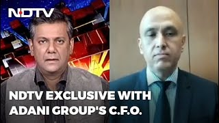 Exclusive: Adani CFO On Freezing Of Accounts Of Investor Funds | Left, Right backslashu0026 Centre - NDTV