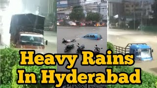 Heavy Rains In Hyderabad Today | TFPC - TFPC