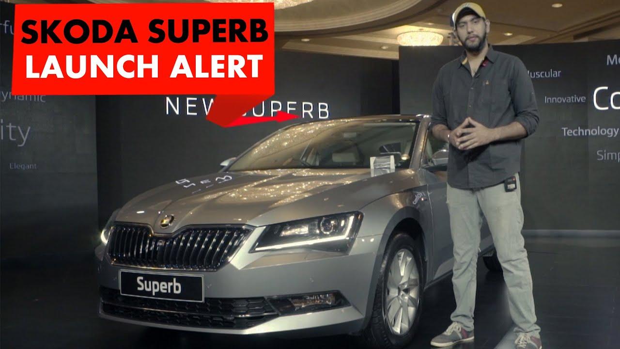 நியூ launch alert: 2016 ஸ்கோடா சூப்பர்ப் : powerdrift