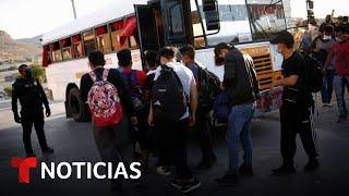 Rescatan a 140 migrantes hacinados en Ciudad Juárez | Noticias Telemundo