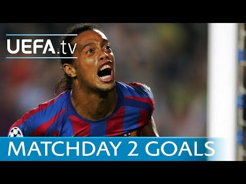Ronaldinho, Roberto Carlos, Draxler: Ten UEFA Champions League matchday two stunners