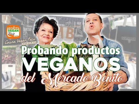 Probando productos veganos de mercado orgánico - Cocina Vegan Fácil