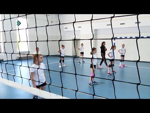 На Центральном стадионе спортивная школа №1 провела свои первые тренировки в обновленных помещениях