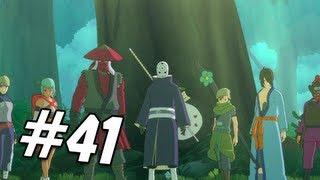 Naruto Shippuden Ultimate Ninja Storm 3 Walkthrough - Part 41 Naruto vs. Jinjuriki Gameplay